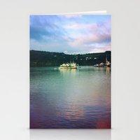 chile Stationery Cards featuring Al sur de Chile by Viviana Gonzalez