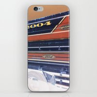 ford iPhone & iPod Skins featuring Ford by czossi