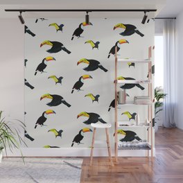 Durante of toucans Wall Mural