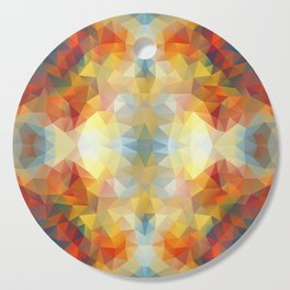 Colorful mozaic design Cutting Board