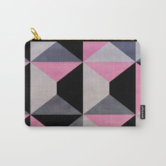 colour + pattern 9 Carry-All Pouch