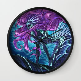 Deep Sea Mermaid Wall Clock