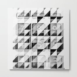 Calculate Metal Print