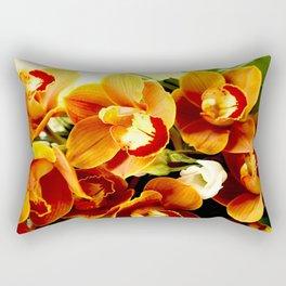 Orchid Corsage #decor #buyart #society6 Rectangular Pillow