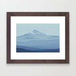 Cascadia Framed Art Print