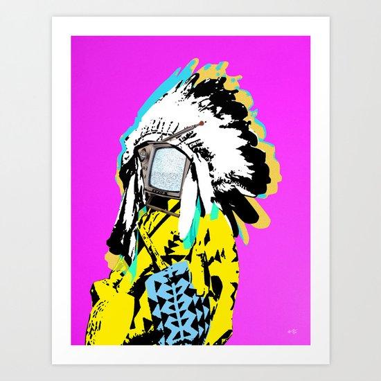 Indian Pop 36 Art Print