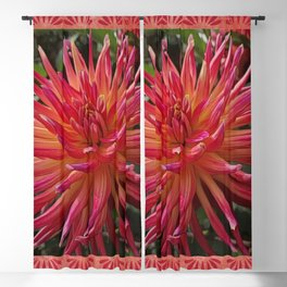 Exotic Flower Blackout Curtain