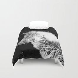 Winter Wolf Duvet Cover