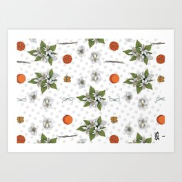 Biscotti all'arancia Art Print