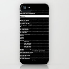 Nuclear Launch iPhone Case