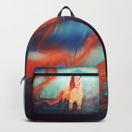 Horse - Fire - Color Backpack