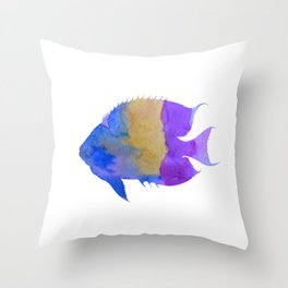 Symphysodon Discus Throw Pillow