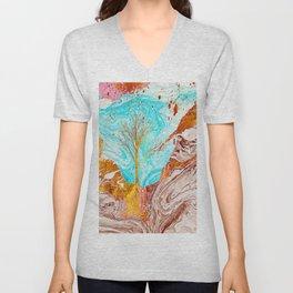 Golden Tree Unisex V-Neck