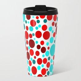 Colorful Bubble Party 3 Travel Mug