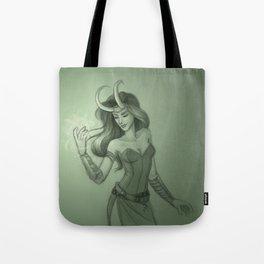 Lady Loki Tote Bag