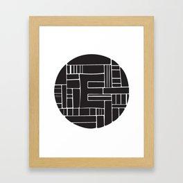 Circle E Framed Art Print