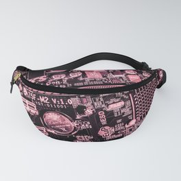 Digital World Fanny Pack