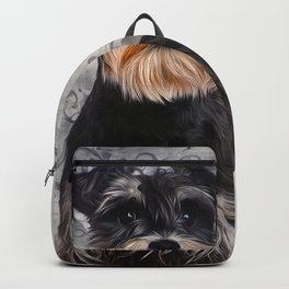 Miniature Schnauzer Backpack