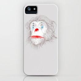 Animalfree circuses - Ape iPhone Case
