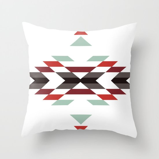 NAVAJO PRINT Throw Pillow
