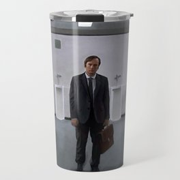 Jimmy McGill At The Courthouse From Breaking Bad And Better Call Saul Travel Mug