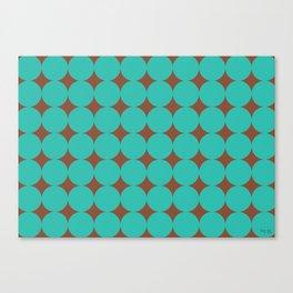 chocolate mint Canvas Print