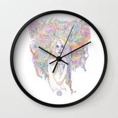 raw color Wall Clock