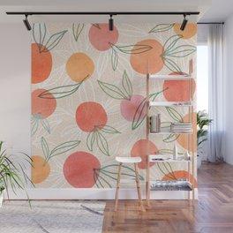 Tropical Fruit Blend Wall Mural
