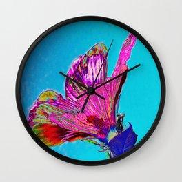 Hibisco Wall Clock