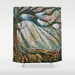 The Children's Tree Of Life #1 Shower Curtain