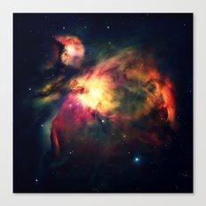 Orion NEbula Dark & Colorful Canvas Print