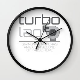 Turbo Lag Giving The N/A Cars An Extra Second Of False Hope Wall Clock
