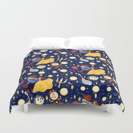 Be Our Guest Pattern Duvet Cover