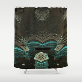 Cave Pool Shower Curtain