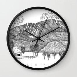 Zentangle Sugarbush, Vermont Wall Clock