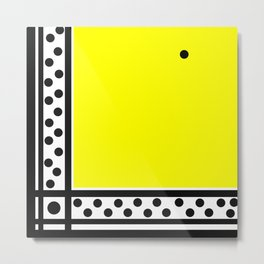 one stubborn dot Metal Print