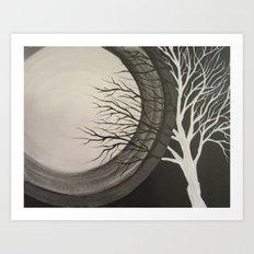 Shadow Tree - Part 2 Art Print