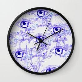 Abstractive Eye Ink Wall Clock