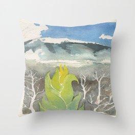 The Big Island, Hawaii Throw Pillow