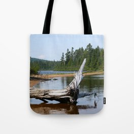 Peacefull Lake in Canada Tote Bag