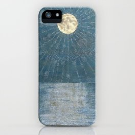 Runic Energies Radiate From Our Moon iPhone Case