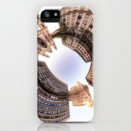 Holey planet with Basilica iPhone Case