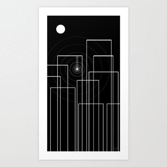 Scream in the Night Art Print