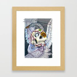 The Owl and the Swan Framed Art Print