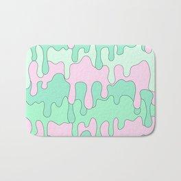 DRIPPY ((seafoam green, pink)) Bath Mat