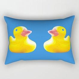 Two ducks Rectangular Pillow