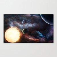 sublime Canvas Prints featuring Sublime by TRAVELLINGTHEC0SM0S