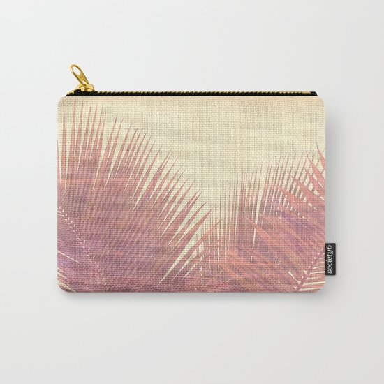 Vintage Palm Carry-All Pouch