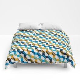 People's Flag of Milwaukee Mod Pattern Comforters