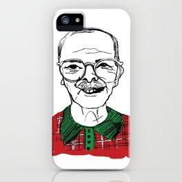 Christmas Grandpa iPhone Case